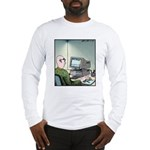 A real Mouse Computer Mouse Long Sleeve T-Shirt