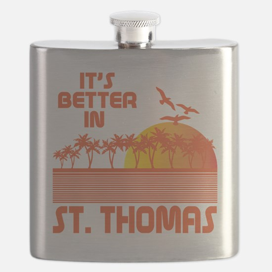 Unique St. thomas Flask