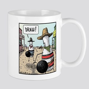 The Bowling Pin Worlds version of a Gunfight Mug