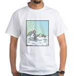 A Dog in Heaven White T-Shirt