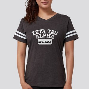 Zeta Tau Alpha Athletic Pers Womens Football Shirt