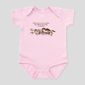 Wild Horses Herd Infant Bodysuit