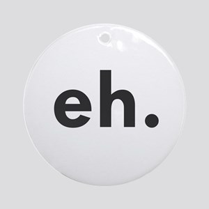 EH Ornament (Round)
