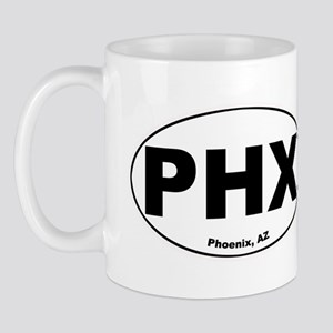 Phoenix (PHX) Arizona Mug