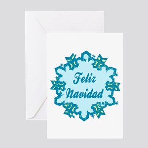 Merry Christmas in Spanish Greeting Card