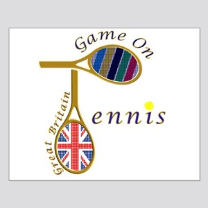 Great Britain Tennis Olympic Colours Small Poster