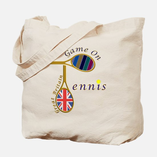 Great Britain Tennis Olympic Colours Tote Bag