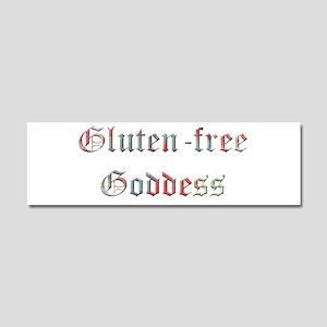 Gluten Free Goddess Car Magnet 10 X 3
