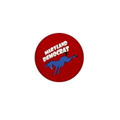 Maryland Democrat Small Pin