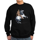 Bigfoot unicorn Sweatshirt (dark)