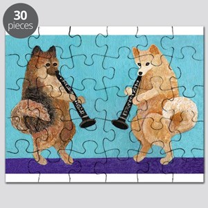 Pomeranian Clarinet Duo Puzzle