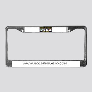 Holdemradio Logo License Plate Frame
