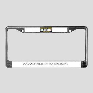 Holdemradio Logo License Plate Frame