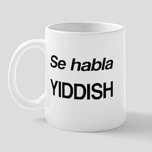 Se Habla Yiddish Mug