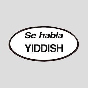 Se Habla Yiddish Patches