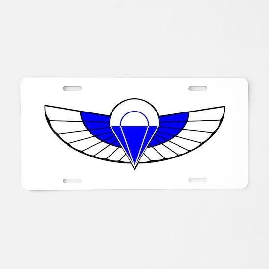 SAS Parchutist Badge Aluminum License Plate