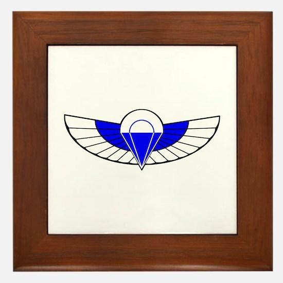 SAS Parchutist Badge Framed Tile