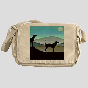 Blue Hills Coonhounds Messenger Bag