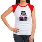 Girlie fighting machine Women's Cap Sleeve T-Shirt