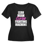 Girlie fighting machine Women's Plus Size Scoop Ne