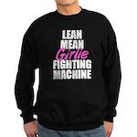 Girlie fighting machine Sweatshirt (dark)