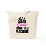 Girlie fighting machine Tote Bag