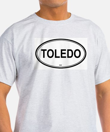 Toledo (Ohio) Ash Grey T-Shirt