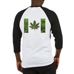 Legalize Marijuana Cannabis Flag Baseball Jersey
