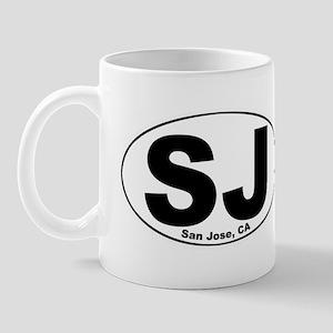 SJ (San Jose, CA) Mug