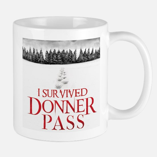 """I survived Donner Pass"" Mug"