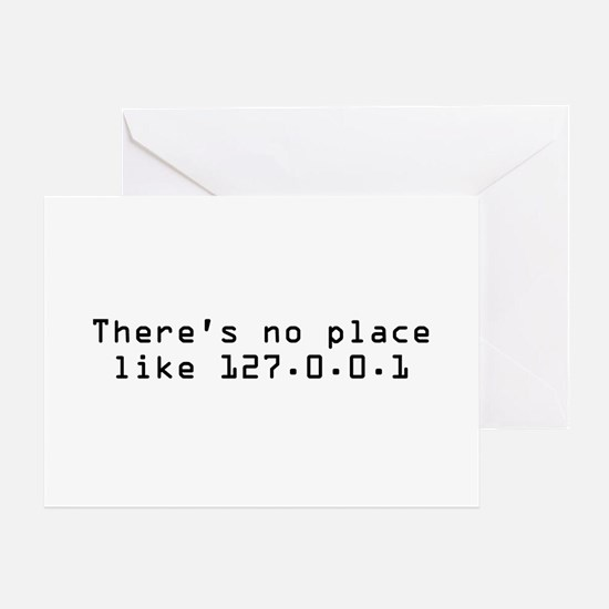 There's No Place Like It Greeting Cards (Package o