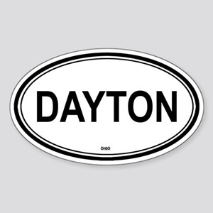 Dayton (Ohio) Oval Sticker