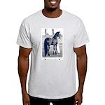 Friesian Crazy Ash Grey T-Shirt