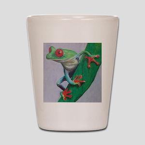 Coqui Frog Shot Glass