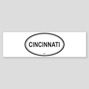 Cincinnati (Ohio) Bumper Sticker