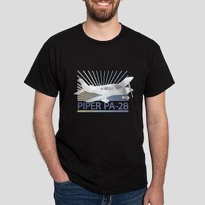 Aircraft Piper PA-28 Dark T-Shirt