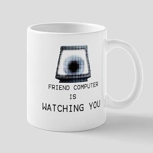 Paranoia RPG Friend Computer is Watching You Mug