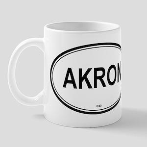 Akron (Ohio) Mug