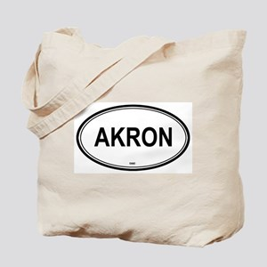 Akron (Ohio) Tote Bag