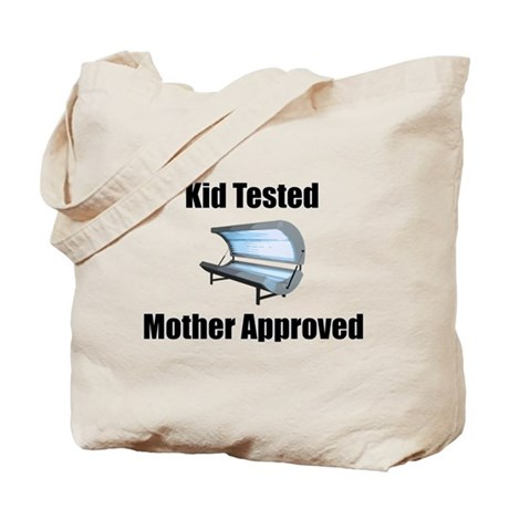 tanning bed Tote Bag