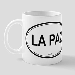 La Paz, Bolivia euro Mug