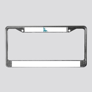 you da hoe License Plate Frame