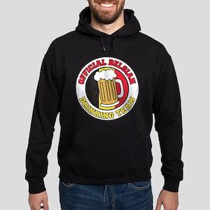 Official Belgian Drinking Team Hoodie (dark)
