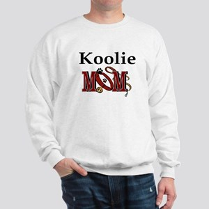 Koolie Dog Mom Sweatshirt