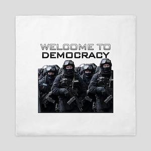 Welcome To Democracy Queen Duvet