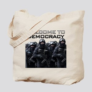 Welcome To Democracy Tote Bag