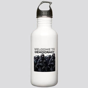 Welcome To Democracy Stainless Water Bottle 1.0L