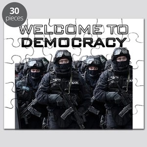Welcome To Democracy Puzzle