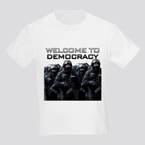 Welcome To Democracy Kids Light T-Shirt
