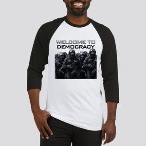 Welcome To Democracy Baseball Jersey